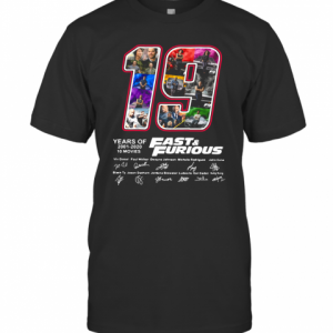 19 Years Of Fast T-Shirt Classic Men's T-shirt