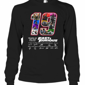 19 Years Of Fast T-Shirt Long Sleeved T-shirt