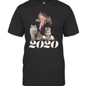2020 Election Democratic Bernie Sanders Cat T-Shirt Classic Men's T-shirt