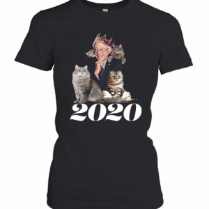2020 Election Democratic Bernie Sanders Cat T-Shirt Classic Women's T-shirt