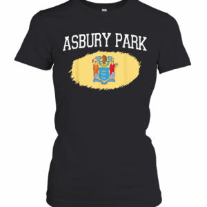ASBURY PARK NJ NEW JERSEY Flag Vintage USA Sports T-Shirt Classic Women's T-shirt