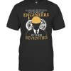 All Men Are Created Equal But The Best Are Engineers In Their Seventies T-Shirt Classic Men's T-shirt