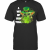 Baby Yoda A Wee Bit Irish Today St. Patrick's Day T-Shirt Classic Men's T-shirt