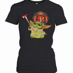 Baby Yoda Courage Fire Honor 2020 T-Shirt Classic Women's T-shirt