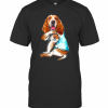 Basset Hound Tattoo I Love Mom T-Shirt Classic Men's T-shirt