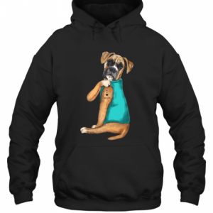 Boxer Tattoos I Love Mom T-Shirt Unisex Hoodie