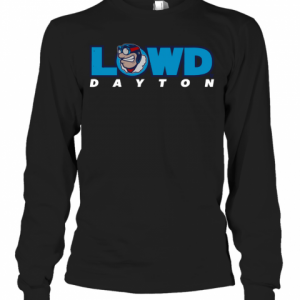 Dayton Flyers Lowd Dayton T-Shirt Long Sleeved T-shirt