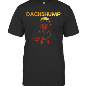 Donald Trump Dachshund Dachshump T-Shirt Classic Men's T-shirt