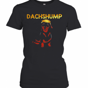 Donald Trump Dachshund Dachshump T-Shirt Classic Women's T-shirt