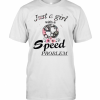 Floral Bmw Just A Girl With A Speed Problem T-Shirt Classic Men's T-shirt