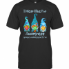Gnomes I Wear Blue For Awareness Accept Understand Love Elements T-Shirt Classic Men's T-shirt