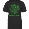 Irish Shamrock Autism Puzzle Pieces Choose Kind St Patricks Day T-Shirt Classic Men's T-shirt