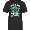 Just A Girl Who Loves Turtles T-Shirt Classic Men's T-shirt