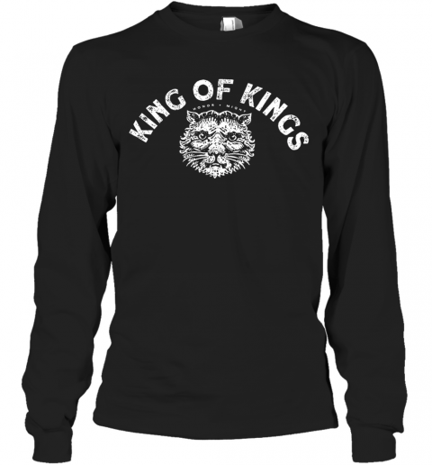 King Of Kings Hornor Might T-Shirt Long Sleeved T-shirt