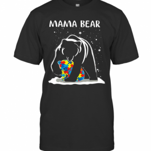 Mama Bear Autism Awareness T-Shirt Classic Men's T-shirt