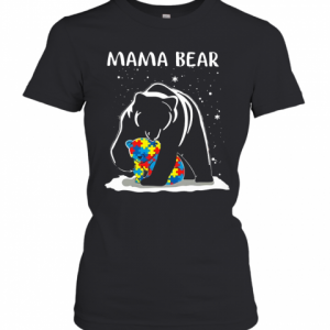 Mama Bear Autism Awareness T-Shirt Classic Women's T-shirt