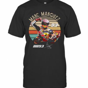 Marc Marquez 93 Vintage Sunset T-Shirt Classic Men's T-shirt