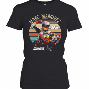 Marc Marquez 93 Vintage Sunset T-Shirt Classic Women's T-shirt