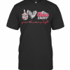 Peace Love And Coors Light T-Shirt Classic Men's T-shirt