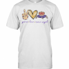 Peace Love And Crown Royal T-Shirt Classic Men's T-shirt