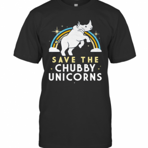 Save The Chubby Unicorns T-Shirt Classic Men's T-shirt