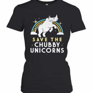 Save The Chubby Unicorns T-Shirt Classic Women's T-shirt