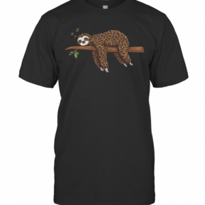 Sloth Zzz Leopard T-Shirt Classic Men's T-shirt