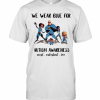 The Incredibles We Wear Blue For Autism Awareness Accept T-Shirt Classic Men's T-shirt