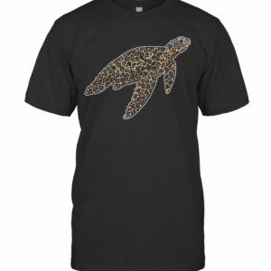 Turtle Leopard T-Shirt Classic Men's T-shirt