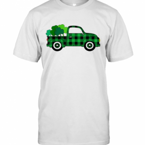 Buffalo Plaid Truck St. Patrick'S Day T-Shirt Classic Men's T-shirt