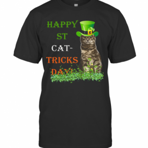 Happy St Cat Tricks Day T-Shirt Classic Men's T-shirt
