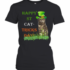 Happy St Cat Tricks Day T-Shirt Classic Women's T-shirt