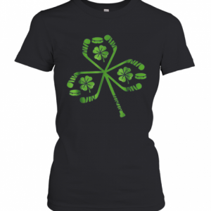 Hockey St Patrick Day Shamrock Hockey Irish T-Shirt Classic Women's T-shirt