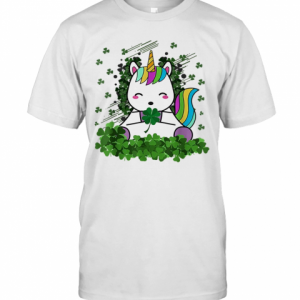 Irish Unicorn Ireland Shamrock St Patrick'S T-Shirt Classic Men's T-shirt