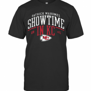 Kansas City Chiefs Patrick Mahomes Showtime In KC T-Shirt Classic Men's T-shirt