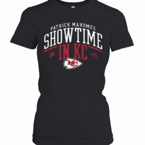 Kansas City Chiefs Patrick Mahomes Showtime In KC T-Shirt Classic Women's T-shirt