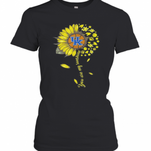 Kentucky Wildcats Baseball You Are My Sunshine Sunflower T-Shirt Classic Women's T-shirt
