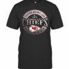 NFL Pro Line By Fanatics Branded Red Kansas City Chiefs Super Bowl LIV Bound In The Zone Metallic T-Shirt Classic Men's T-shirt