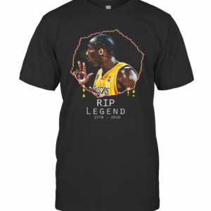 Rest In Peace Kobe Bryant R.I.P Legend 1978 2020 T-Shirt Classic Men's T-shirt