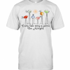 Birds Peace Love Every Little Thing Is Gonna Be Alright T-Shirt Classic Men's T-shirt