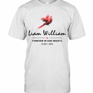 Liam Williams Forever In Your Hearts 20 Oct 2010 T-Shirt Classic Men's T-shirt