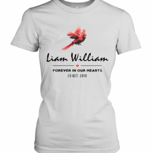 Liam Williams Forever In Your Hearts 20 Oct 2010 T-Shirt Classic Women's T-shirt