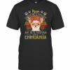 Never Underestimate An Old A Chihuahua Vintage T-Shirt Classic Men's T-shirt