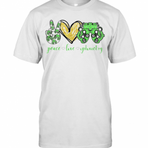 Peace Love Optometry Special Version T-Shirt Classic Men's T-shirt