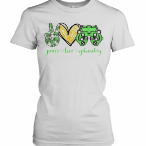Peace Love Optometry Special Version T-Shirt Classic Women's T-shirt