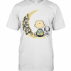 Snoopy Charlie Brown Autism I Love You To The Moon T-Shirt Classic Men's T-shirt