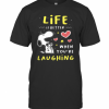 Snoopy Life Is Better When You're Laughing T-Shirt Classic Men's T-shirt